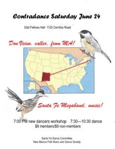 Santa Fe Contra 6/24/17 Flyer